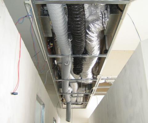 Realizzazione impianto di climatizzazione con recupero calore, privato, Lequile (LE)