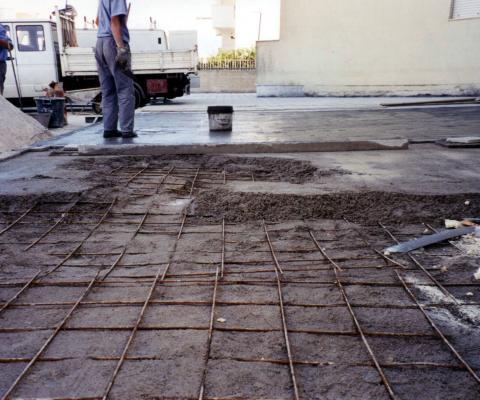 2001, I.A.C.P. - via Raffaello, Lequile (LE) - Rifacimento tubazioni fognarie e pavimentazione esterna