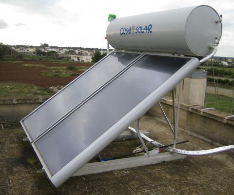 Impianto Solare Termico, Privato, Sternatia (LE)