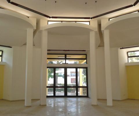Ristrutturazione interni - sala convegni, comune di Alezio (LE)