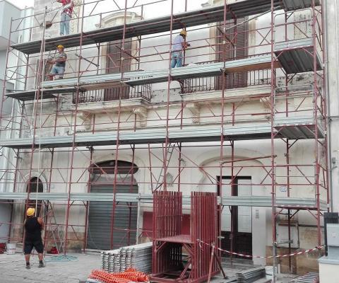 ristrutturazione facciata immobile privato, Lequile (LE)