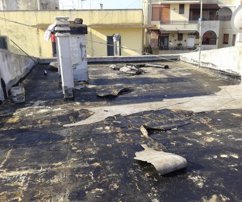 Impermeabilizzazione terrazzo, Arca Sud Gallipoli (LE)